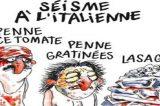 La satira di Charlie Hebdo sui terremotati italiani: polemiche e accuse sul web