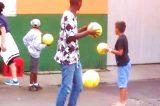 Dieci palloni e un tocco di pazzia. Quando si rinasce da se stessi