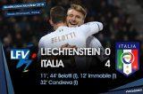 LIVE PRIMO TEMPO/ Qualificazioni mondiali Russia 2018, LIECHTENSTEIN-ITALIA 0-4
