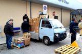 Accordo tra i GRE LAZIO e la CARITAS per l'eccedenza di beni raccolti per il sisma