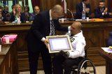 Cassino, vite straordinarie. Il sindaco D'Alessandro consegna riconoscimento al Ten. Col. Ruolo d'Onore Giuseppe Campoccio