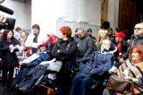 """Nuova protesta Comitato 16 Novembre e disabili gravi sotto il MEF: """"Vogliamo l'aumento del Fondo della Non Autosufficienza"""""""