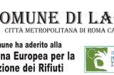 Labico aderisce per il secondo anno consecutivo alla Settimana Europea per la Riduzione dei Rifiuti