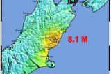 Forte Terremoto scuote la Nuova Zelanda, 8.1 M. La faglia attivata ha generato uno tusnami