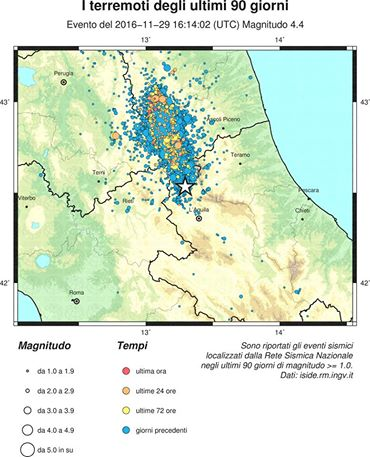 Previsione terremoto