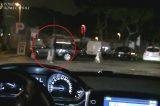 VIDEO/ Blitz notturno di Polizia Roma Capitale al Testaccio. Nella rete i parcheggiatori abusivi
