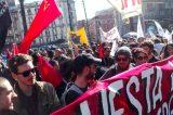 """Video/ Napoli, corteo antirazzista contro Salvini alla Mostra d'Oltremare: """"Caro Salvini noi ti cacceremo da questa città!"""""""
