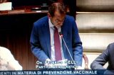 Vaccini. Il relatore Federico Gelli (PD) difende il testo del decreto legge non modificato alla Camera