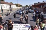 """""""No alla tendopoli Rom"""": sit in di protesta a Miano"""