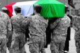 Funerali del Sergente Maggiore Capo Mirko Rossi. Indagine sull'incidente mortale dopo il lancio con il paracadute