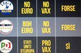 """Matteo Renzi lancia la sfida: """"Stati Uniti d'Europa e Vaccini Obbligatori al referendum su Euro"""""""