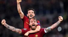 Champions, la partita perfetta. Roma cattiva e determinata batte il Barcellona 3-0 e va in semifinale
