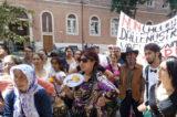 Roma Capitale è braccio di ferro. Protesta di Rom, Sinti e Caminanti contro lo sgombero notificato