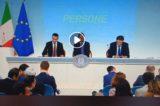 VIDEO/Approvato Decreto Dignità. Intesa perfetta tra Conte, Di Maio, Giorgetti che rispondono ai giornalisti