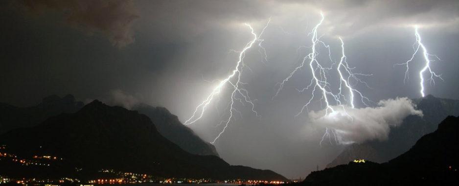 """CNSAS avverte: """"Temporali nei prossimi giorni, attenti ai fulmini"""""""