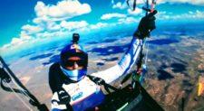 Brasile. Aaron Durogati sfiora il record mondiale volando per 510 chilometri in parapendio