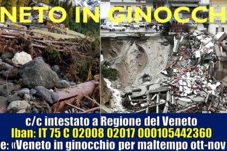 """Maltempo, Veneto in ginocchio. Zaia chiede """"Sospensioni imposte e tributi"""" e attiva C/C Solidarietà"""