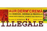 """Ebay, AUR DERM CREMA contro psoriasi, macchè naturale! AIFA: """"Vendita illegale, contiene ben 4 principi attivi"""""""