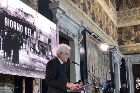 """Foibe, veli squarciati. Presidente Mattarella: """"Oppressione nazista e comunista, simili metodi di persecuzione"""""""