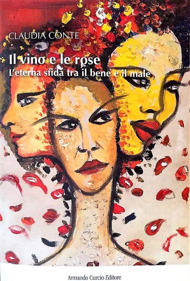 Claudia Conte presenta il suo libro Il vino e le Rose alla sua terza ristampa