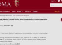 Roma, panico e rabbia per l'interruzione servizio taxi persone con disabilità. Gli utenti denunciano