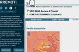 """Nasce """"Sicuro+"""". Basta un click per monitorare il rischio sismico del proprio territorio"""