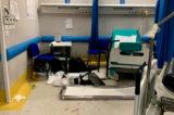 """Napoli. Ospedale dei Pellegrini, devastato il pronto soccorso. Direttore ASL1: """"Atto gravissimo"""""""