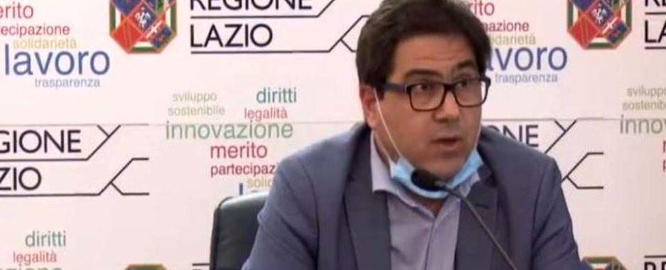 """Lazio, covid test. D'Amato lancia l'allarme: """"C'è troppa psicosi, 28 mila tamponi"""". Insorgono i cittadini"""